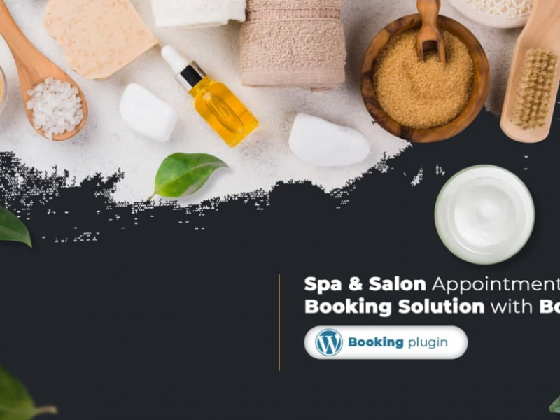 Spa and Salon Appointment Booking